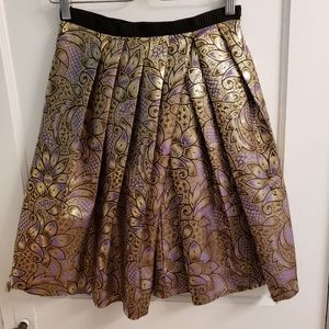 Marni x H&M Full Pleated Jacquard Skirt